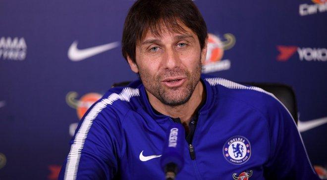 Конте: Если посмотреть на статистику, то увидишь, что за 14 лет из Челси уволили 10 тренеров
