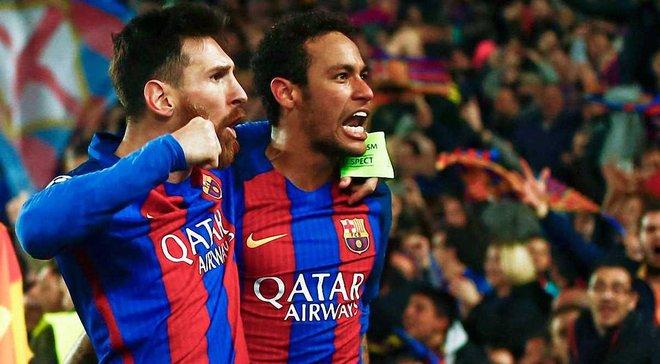 Месси: Уход Неймара изменил стиль игры Барселоны