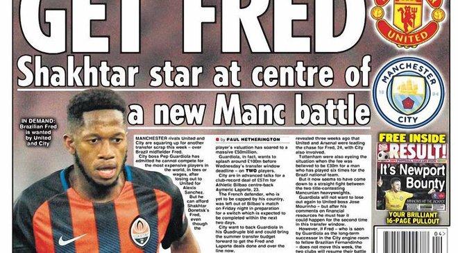 Фред зацікавив 4 топ-клуби АПЛ, але умови Шахтаря відлякали двох претендентів, – Daily Star