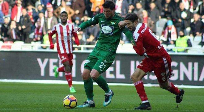 Селезньов врятував Акхісар Беледієспор від поразки, забивши гол на 90+1 хвилині