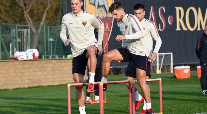 Рома – Сампдория: Джеко и Ундер в основном составе, Шик из-за повреждения не попал в заявку