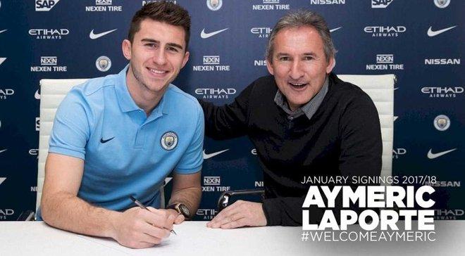 Ляпорт официально стал игроком Манчестер Сити