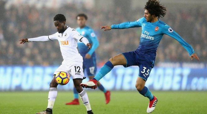 Суонси – Арсенал – 3:1 – видео голов и обзор матча