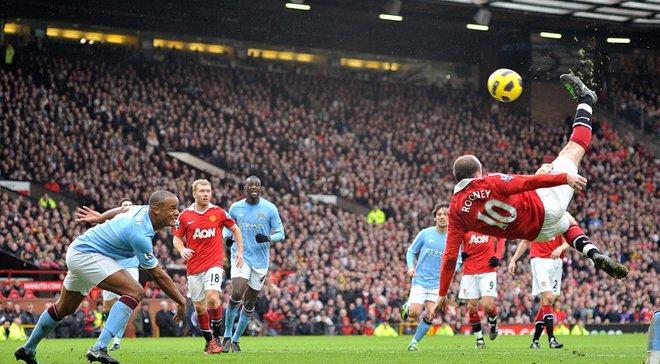 7 років тому Руні забив неймовірний гол бісіклетою у ворота Манчестер Сіті