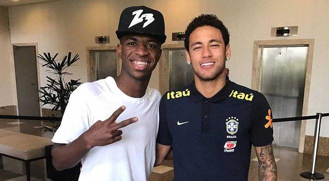 Неймар став на захист Вінісіуса після скандального святкування гола – Реал може покликати бразильця раніше