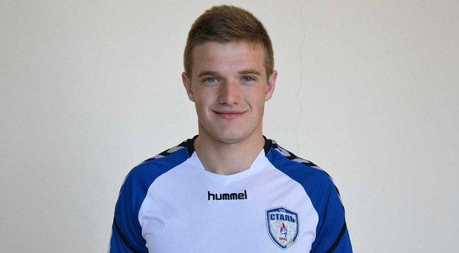 Сталь подписала 21-летнего воспитанника закарпатского футбола Нуриева