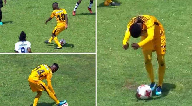 Самая унизительная атака в истории футбола? Игроки Кайзер Чифс, похоже, перешли все границы