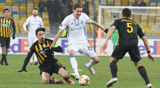 Динамо зіграє з Лаціо в 1/8 фіналу Ліги Європи