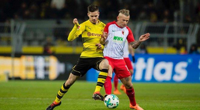 Боруссия Дортмунд – Аугсбург – 1:1 – видео голов и обзор матча