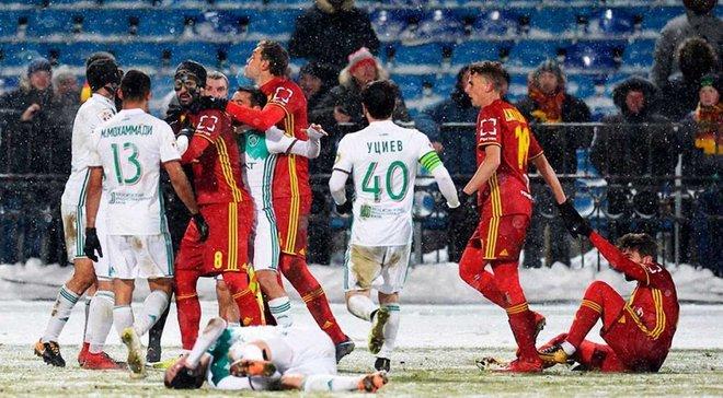 Комбаров порушив принципи фейр-плей у матчі РФПЛ – екс-динамівця Родолфо вилучили через спробу самосуду