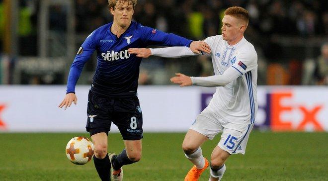 Динамо сыграло вничью с Лацио в Риме: обзор матча
