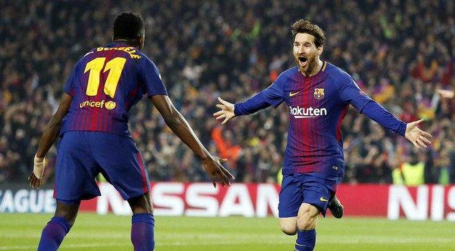 Барселона – Челси – 3:0 – видео голов и обзор матча
