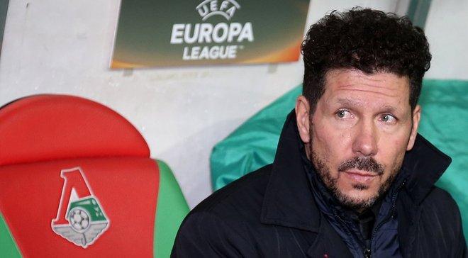 Симеоне: Насчёт шансов на победу в Лиге Европы поговорим позже