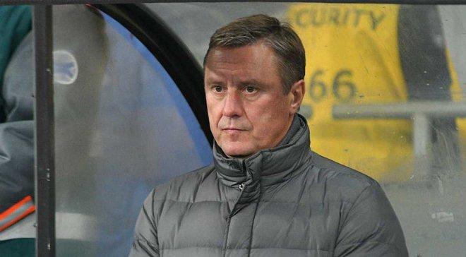 Хацкевич: Хачериди сказал, что левого центрального защитника сыграть не может