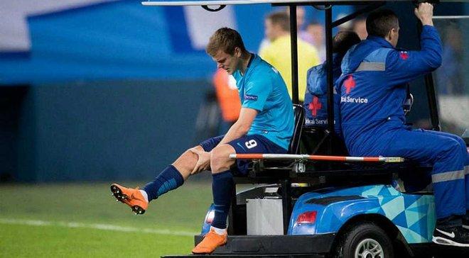 Кокорин получил травму колена и рискует пропустить ЧМ-2018