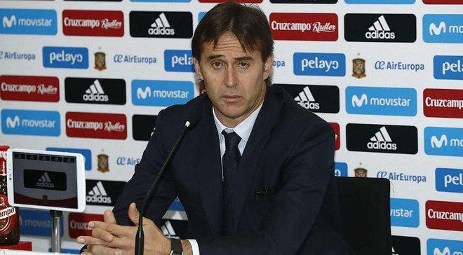 Лопетеги вызвал в сборную Испании 24 футболиста на матчи с Германией и Аргентиной