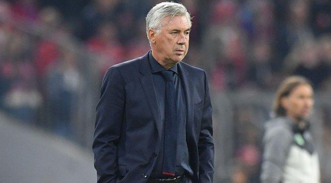 Анчелотті ще не прийняв рішення щодо збірної Італії