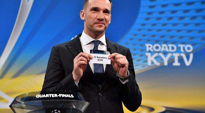 Андрій Шевченко назвав головного фаворита Ліги чемпіонів