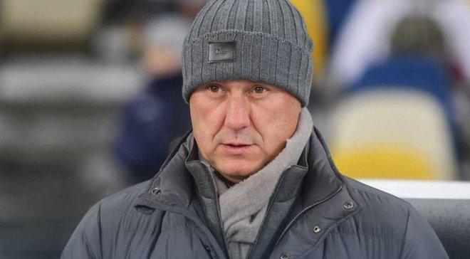 Хацкевич: Хачериди не отстранен от работы с первой командой
