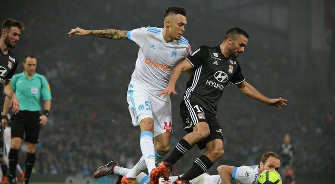 Марсель – Лион – 2:3 – видео голов и обзор матча