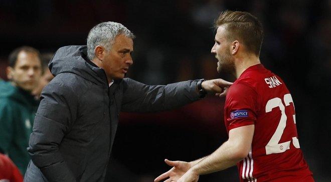 Игроки Манчестер Юнайтед недовольны критикой Моуринью в адрес Шоу