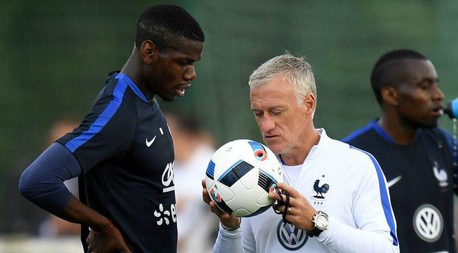 Дешам підтвердив, що Погба нещасливий у Манчестер Юнайтед