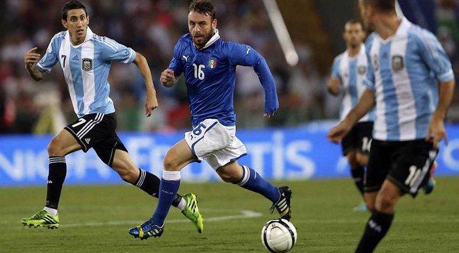 Італія – Аргентина: прогноз на товариський матч