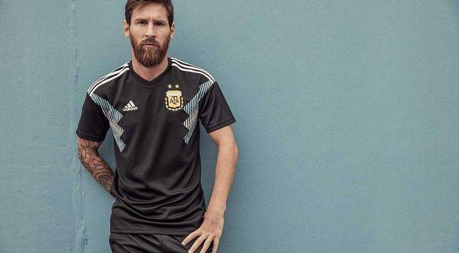 Adidas представив виїзні форми збірних Німеччини та Аргентини