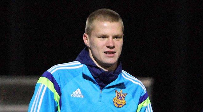 Бурда занимался индивидуально во время тренировки сборной Украины