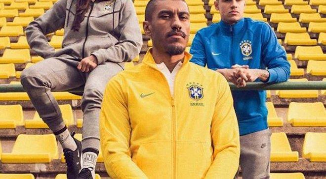 Сборная Бразилии представила новую форму на ЧМ-2018