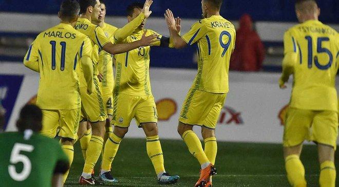 Украина сыграла вничью с Саудовской Аравией в товарищеском матче