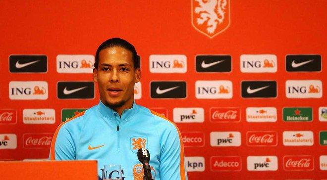 Ван Дейк став капітаном збірної Нідерландів