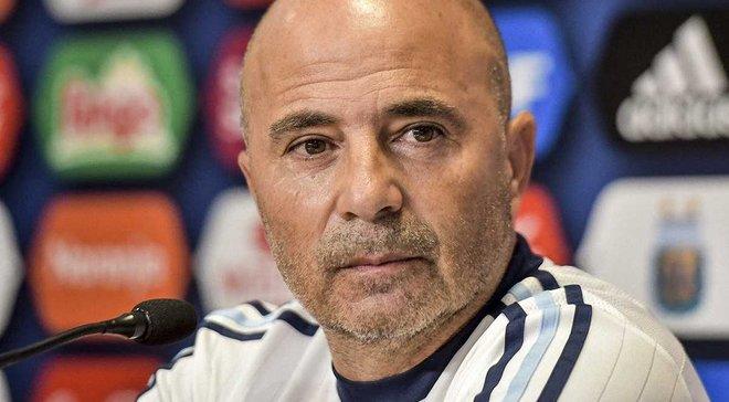 Сампаоли: Сборная Аргентины – это будет команда Месси