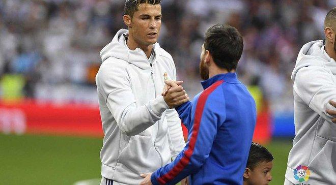 Роналду хочет зарабатывать хотя бы на 1 евро больше, чем Месси