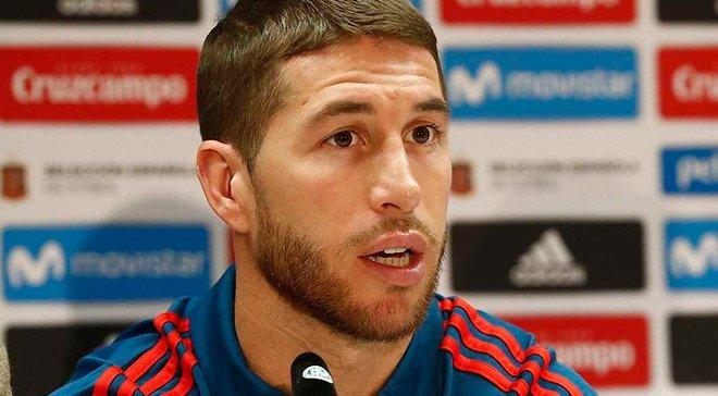 Рамос: Хотел бы стать игроком, который надевал футболку сборной Испании наибольшее количество раз