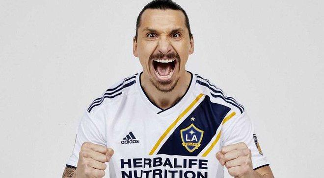 Ібрагімовіч став гравцем Лос-Анджелес Гелаксі