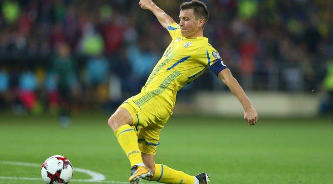 Ротань поднялся на 3 место в списке гвардейцев сборной Украины