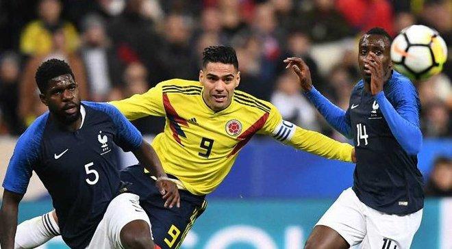 Колумбия обыграла Францию благодаря феерическому камбэку в Париже – видео голов и обзор матча