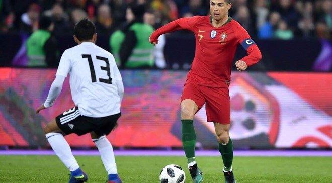 Роналду в компенсированное время принес Португалии победу над Египтом