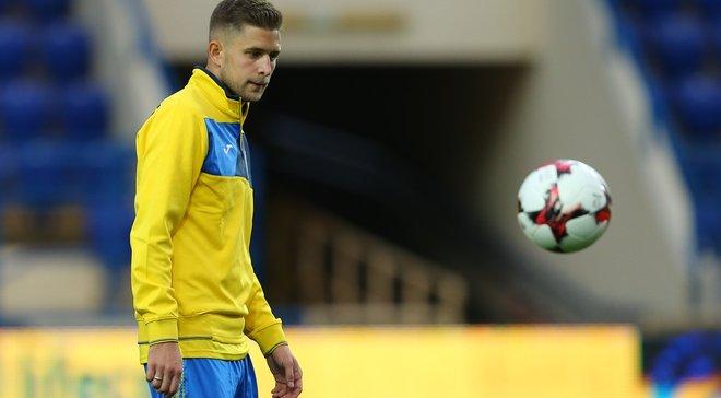 Кравець зрівнявся з Мілевським, Вороніним і ще двома гравцями за кількістю голів у збірній України