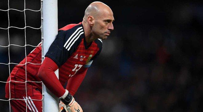 Кабальеро дебютировал за сборную Аргентины в 36 лет