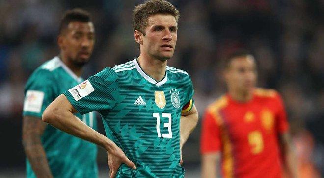 Німеччина – Іспанія: Мюллер забив шедевральний гол