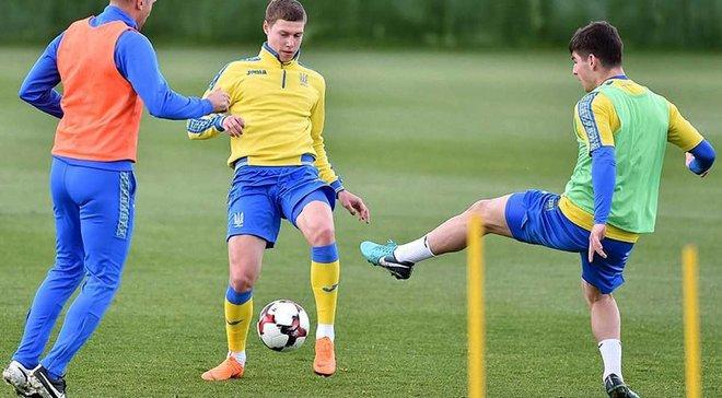 """Україна – Японія: """"синьо-жовті"""" готуються до матчу – Бурда покидає команду, Циганков тренується індивідуально"""