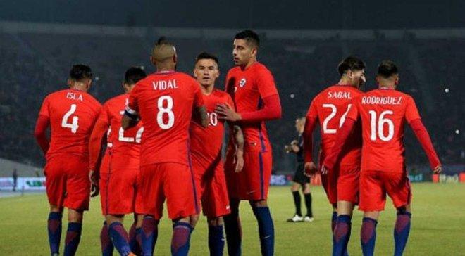 Швеція – Чилі – 1:2 – відео голів та огляд матчу