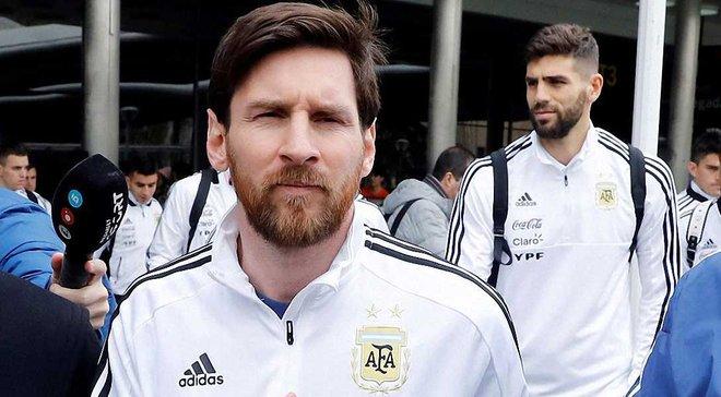 Мессі хоче зіграти проти Іспанії попри пошкодження