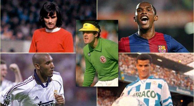 Українець, легенди Барселони і Манчестер Юнайтед – топ-20 гравців, які грали за найбільшу кількість клубів