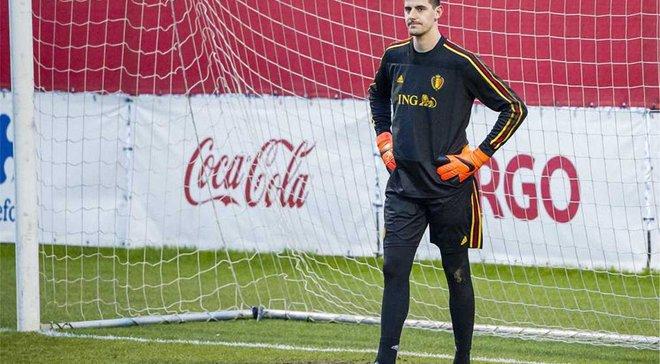 Куртуа покинув збірну Бельгії через травму
