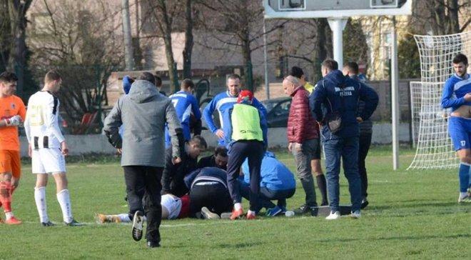 25-річний футболіст Бруно Бобан помер на полі