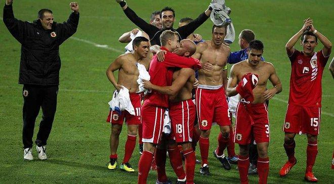 Збірна Гібралтару здобула першу перемогу у своїй історії на власному полі