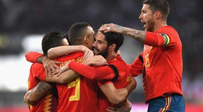 Кожен гравець збірної Іспанії може отримати 125 тисяч євро за перемогу на ЧС-2018